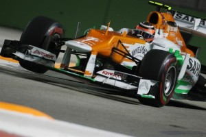 Sahara Force India: Singapore Grand Prix Qualifying Report