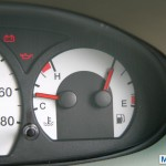Mahindra Quanto fuel gauge