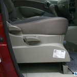 Mahindra Quanto driver seat height adjuster