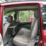 Mahindra Quanto second row seats