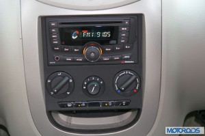 Mahindra Quanto audio system