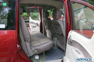 Mahindra Quanto rear seat