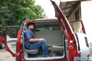 Mahindra Quanto rear seats