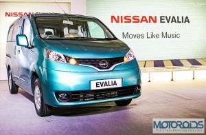 Nissan Evalia launched @ INR 849000