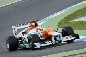 Sahara Force India 2012 Singapore Grand Prix Free Practice Report