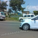 VW Up! 5 door spied undisguised at Pune
