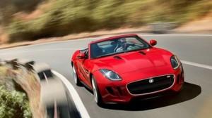Jaguar F Type Unveiled at Paris