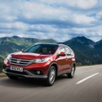 New Euro-spec Honda CRV Unveiled at Paris Motor Show