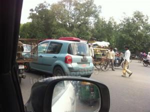 Renault Modus Caught Testing in India