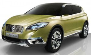 Suzuki S Cross to Debut in 2013