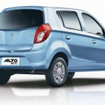 New Maruti Alto 800 rear