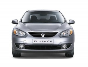 2013 Renault Fluence Showcased at Paris Motor Show