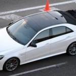 Mercedes Benz E Class Facelift Teaser