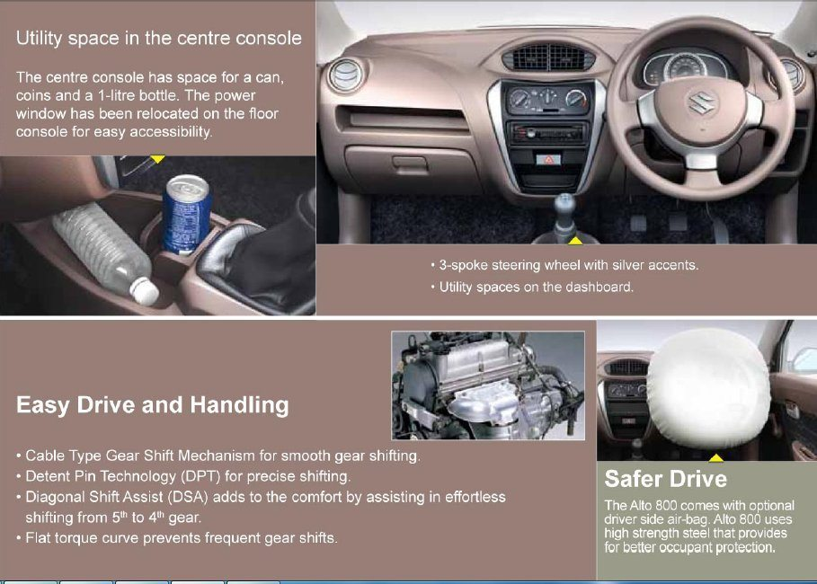 New 2013 Maruti Suzuki Alto 800 Launched at Rs 2.44 lakh: Price, images, specs and all the details-October 17, 2012-Brochure-3.jpg