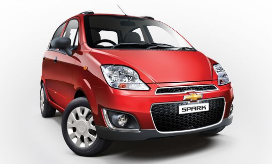 Chevrolet Spark Facelift Launched @ INR 3.16 Lakhs