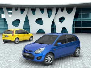 Ford Figo Facelift Launched @ INR 3.84 lakhs