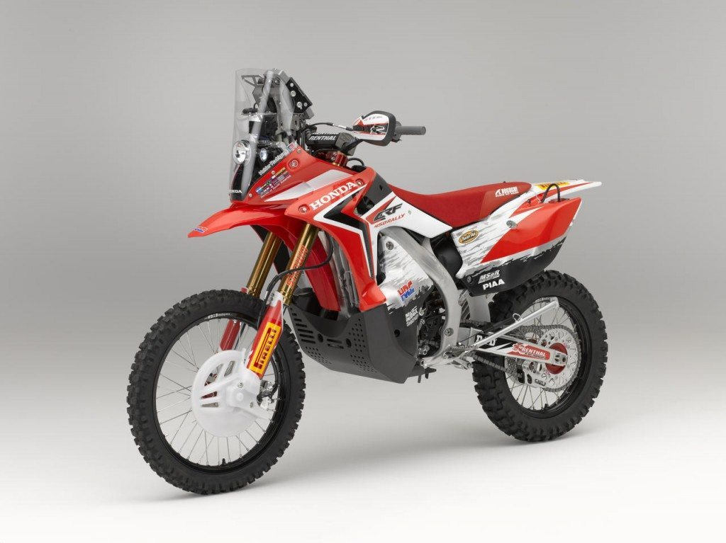 CRF450 Rally: Honda's contender for 2013 Dakar Rally