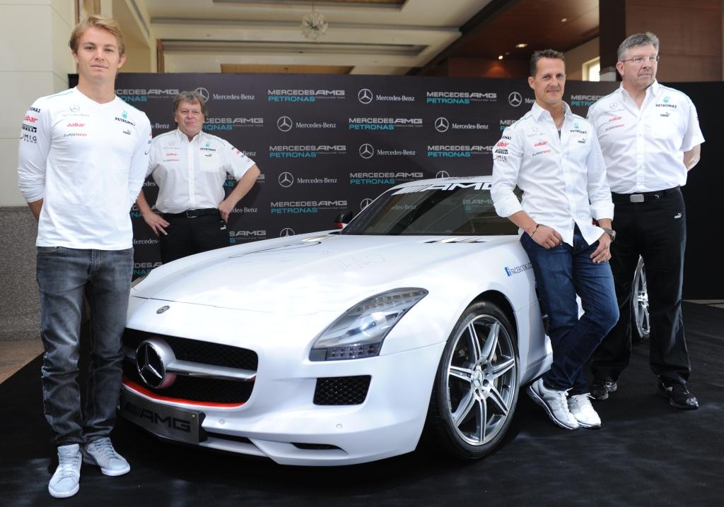 Mercedes AMG Petronas announces the F1 Indian Grand Prix Team