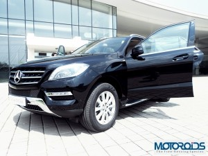Mercedes Benz ML250CDI Launched @ INR 45.6 Lakhs