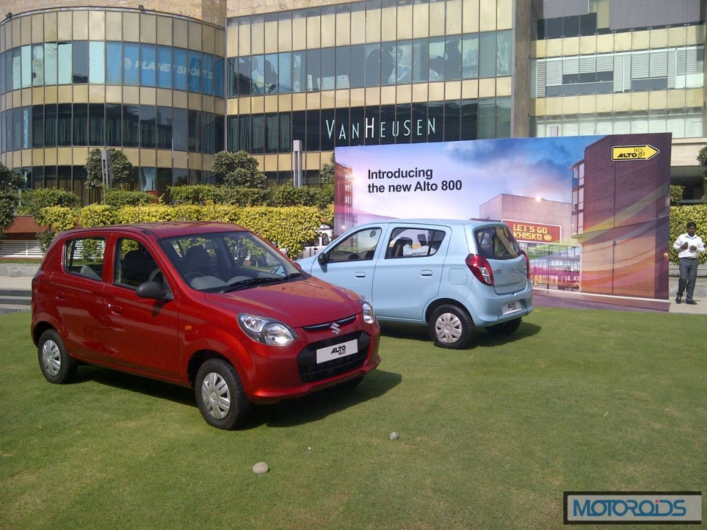 Maruti Suzuki Alto 800 clocks 50,000 Bookings