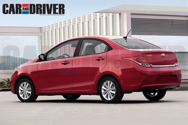 Toyota's Honda City Rival to Debut in 2014