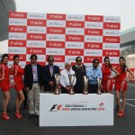 2012 Formula One Airtel Indian Grand Prix Trophy Unveiled