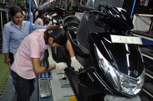 Yamaha India hires 200 women for Assembly Line Operations