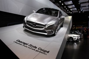 Mercedes CLA to be Unveiled in January 2013