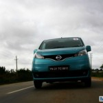 Nissan Evalia Transports Red Bull Racing's Equipment and Staff at Formula One Indian Grand Prix