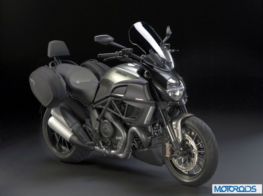 2013 Ducati Models: Diavel gets the 'Strada' treatment for touring