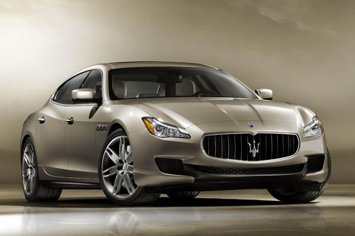 New 2013 Maserati Quattroporte Details Revealed
