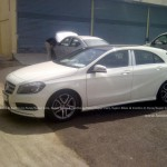 Mercedes Benz A Class Caught Testing in India