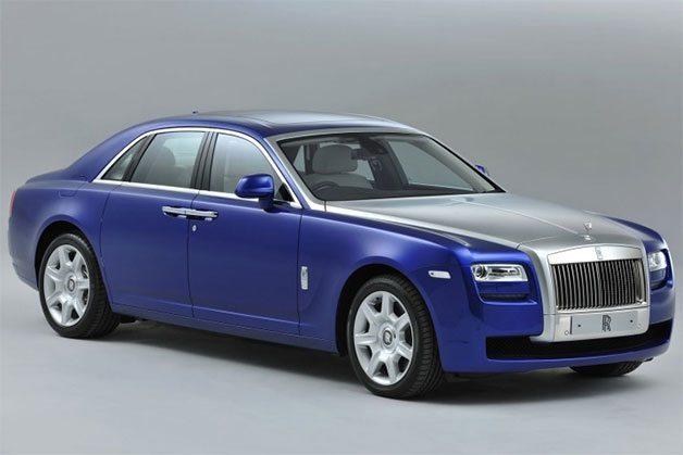 2013 Rolls Royce Ghost Unveiled