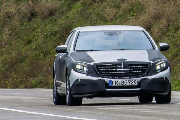 2014 Mercedes S Class is Crash-Proof. Almost