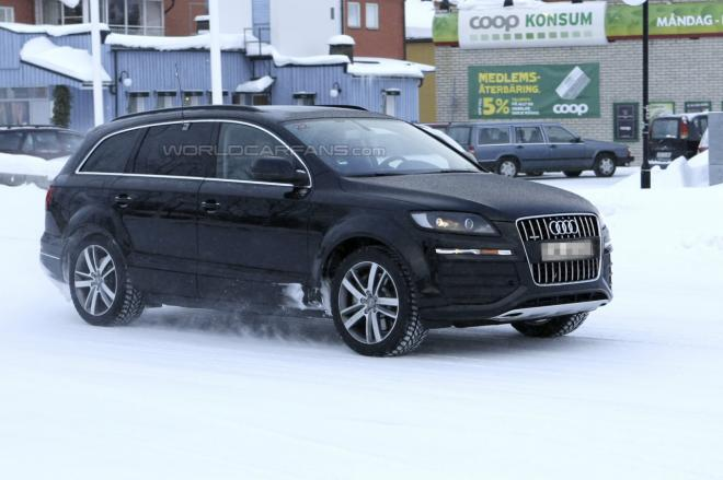 Next Generation Audi Q7 to be Lighter. Caught Testing