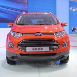 Ford EcoSport Long Wheelbase Showcased at China