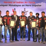 IAF Riders on Hero Impulse Post New World Record