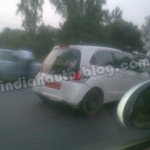 Honda Brio Diesel Caught Testing. Mid-2013 Launch
