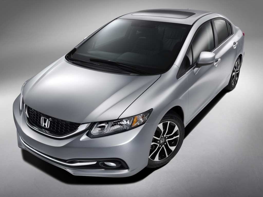 IMAGE GALLERY: 2013 Honda Civic Debuts at LA Auto Show