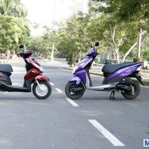 Honda Dio vs Yamaha Ray (4)