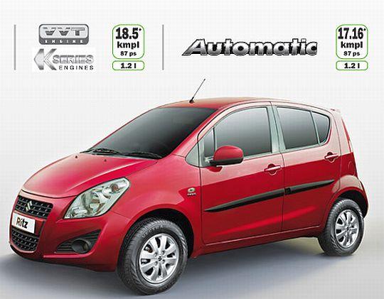 Official: Maruti Suzuki Ritz Automatic Prices to Start at INR 6.15 Lakhs