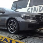 Mercedes Benz CLA Compact Sedan Caught Testing. January 2013 Unveil