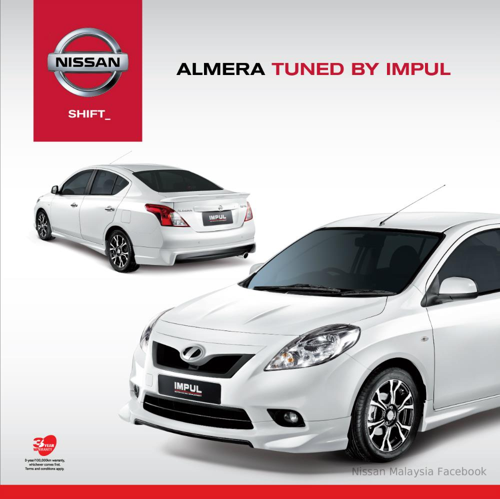 Nissan Sunny Impul Body Kit Introduced in Malaysia