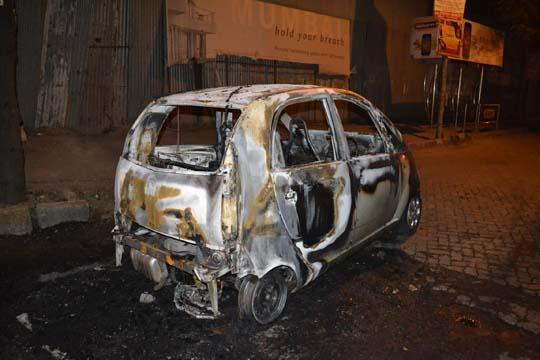 Tata Nano Catches Fire (Again!)