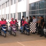 Yamaha India appoints female riders for door-to-door interaction with prospective Ray customers