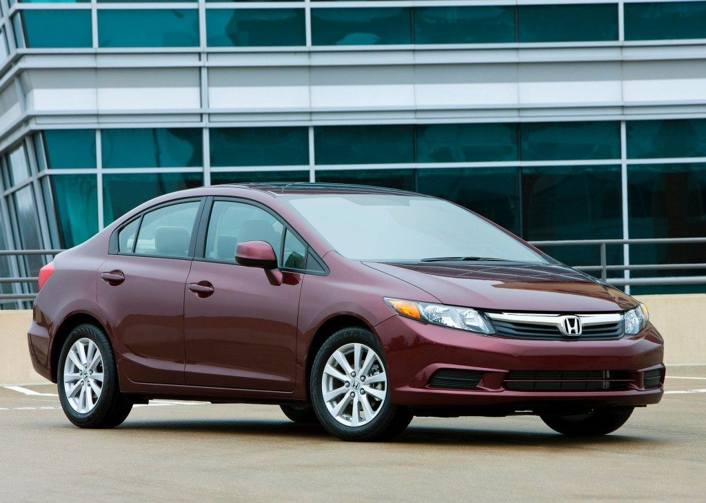 187 units of 2012 Honda Civic Recalled in US