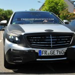SPIED: Next gen Mercedes Benz S Class caught again