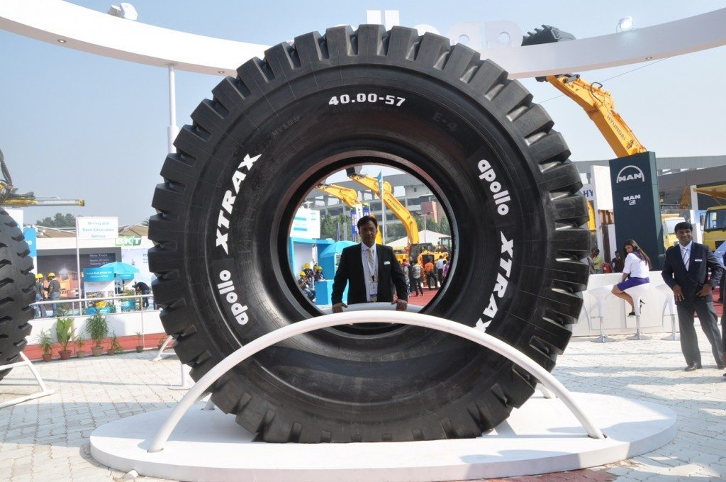 Apollo XTRAX 57 inch off-highway tyre launched