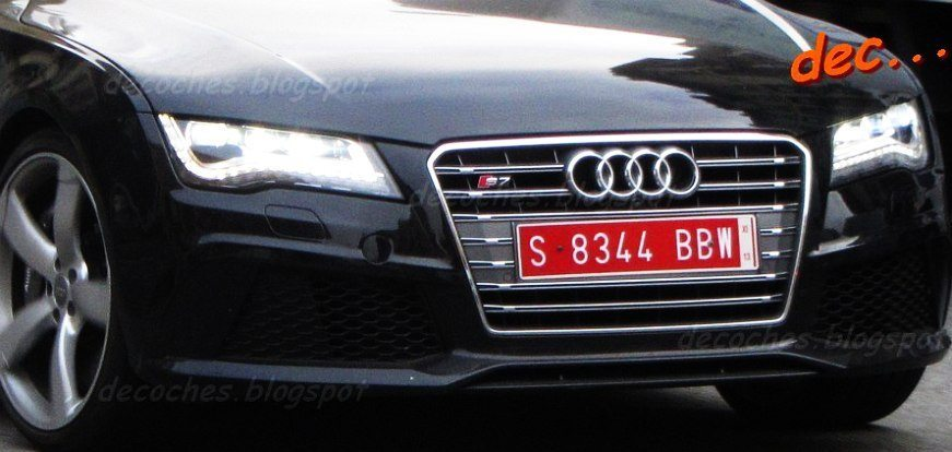 Audi RS7 Caught Testing