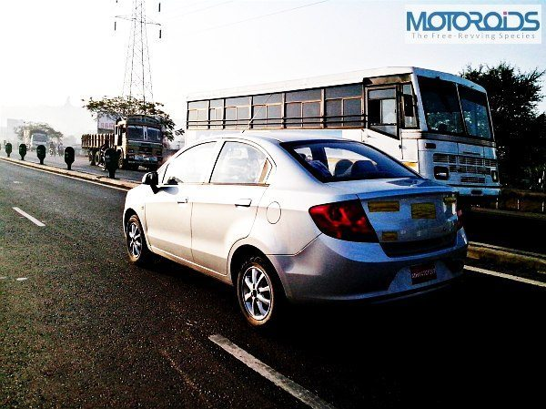 Chevrolet Sail Sedan Spotted Testing. Launch Soon